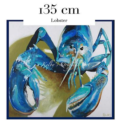 Lobster Italian Silk Scarf