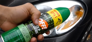 mosquito repellent bug spray wd40 foggy headlights