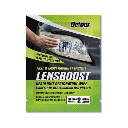 LensBoost™ Headlight Restoration Wipe (1 Wipe)