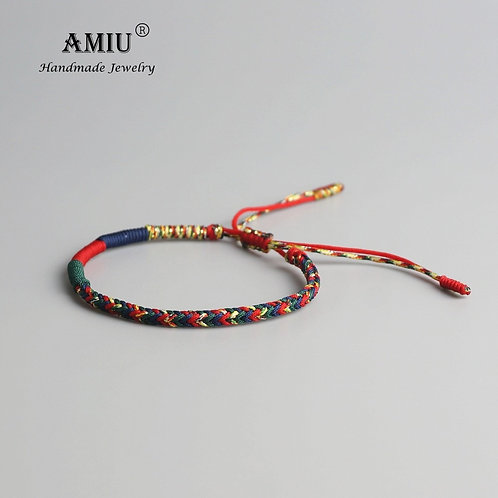 Tibetan Buddhist Lucky Charm Tibetan Bracelets Handmade Knots