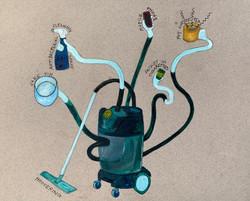 Vacuum Cleaner Hydra Blues