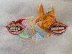 Lippy Goldfish