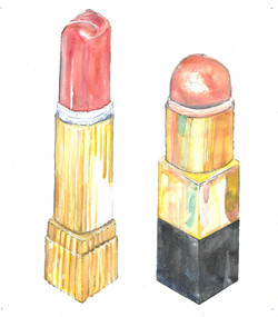 Rib (from the series All The Lipsticks In My Bag)