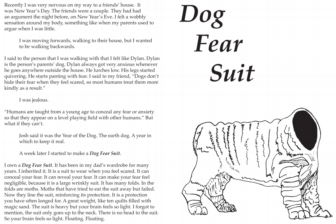 Dog Fear Suit
