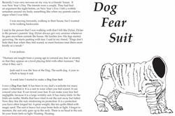 Dog Fear Suit