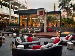 W Hollywood Pool Lounge Area