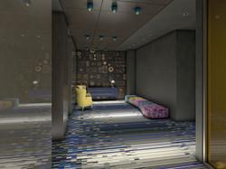 W Hotel Meeting Room Corridor