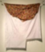 Drawing, figurative drawing, textiles, silk, pattern, fabric