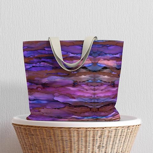 Copper Sky Large Tote Bag