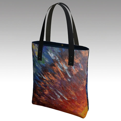 Light Within Urban Lined Tote