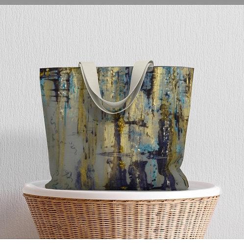 Solid Air Large Tote Bag