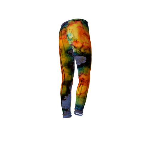 Youth Leggings - In the Cavern of my Mind II