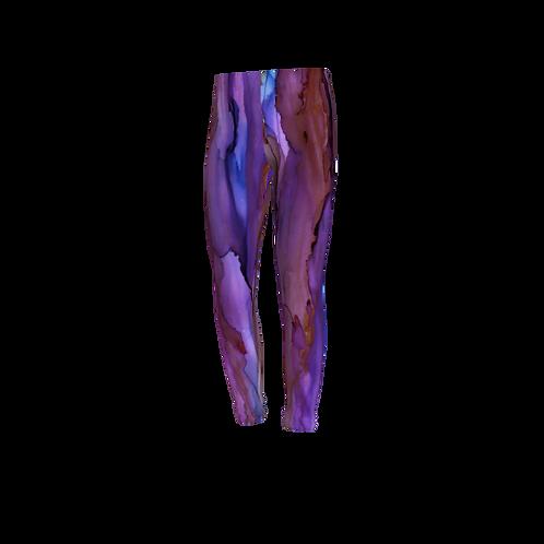 Youth Leggings - Copper Sky