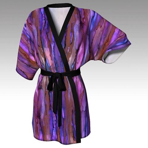 Kimono Robe - Copper Sky