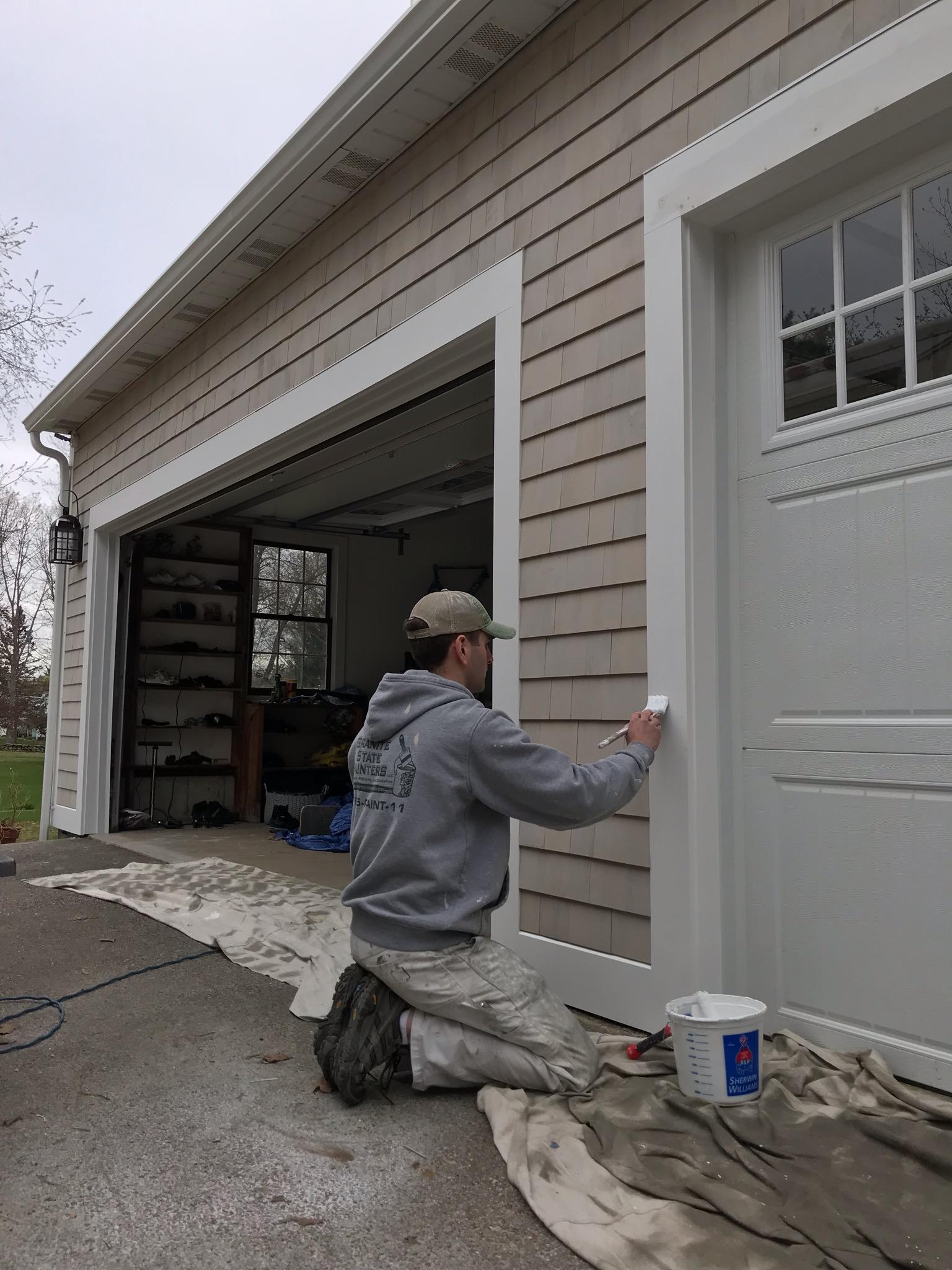 exterior garage