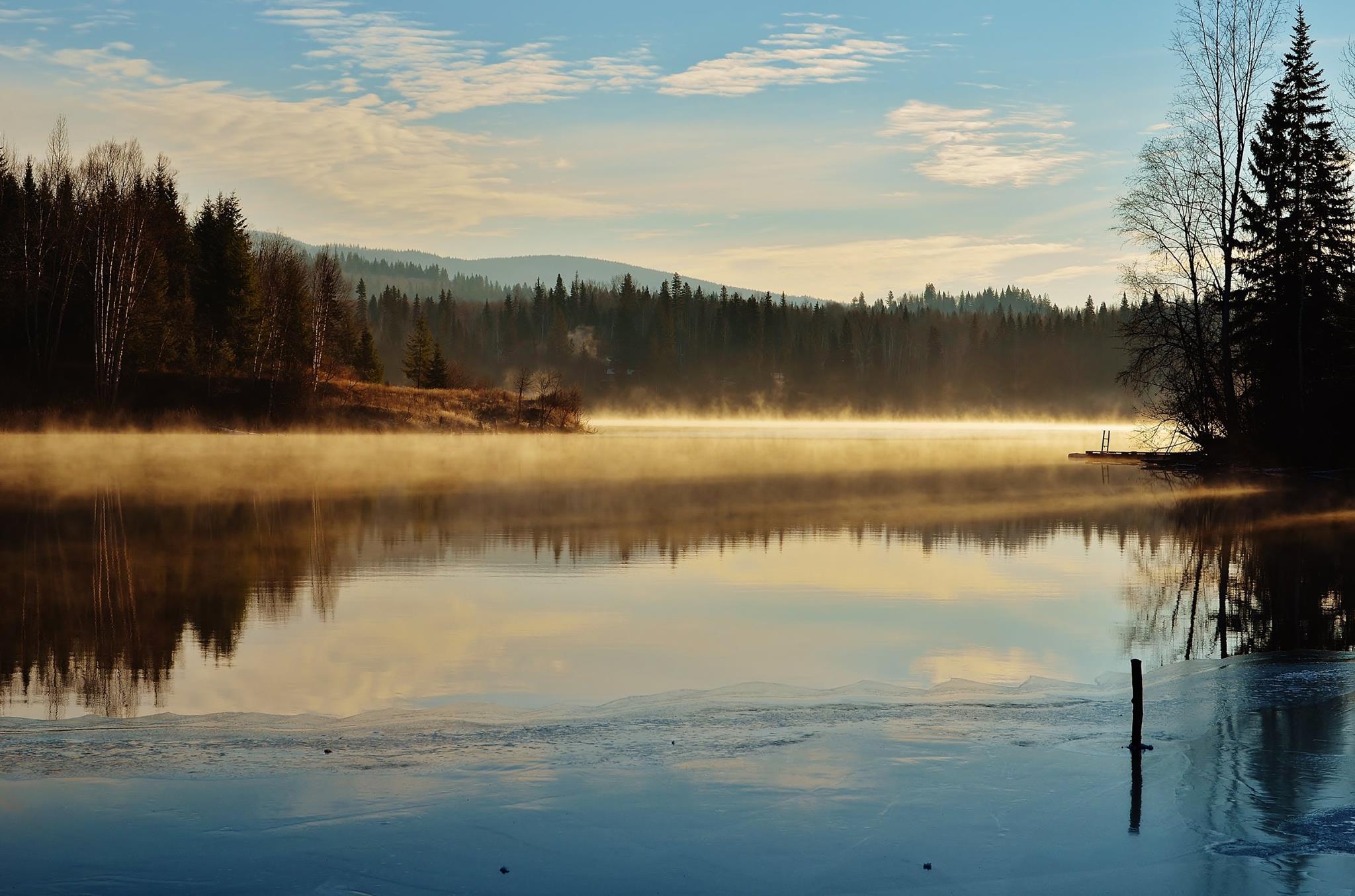 Early morning over Horsefly Lake