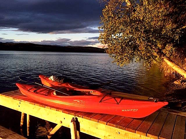 Canoe rentals available