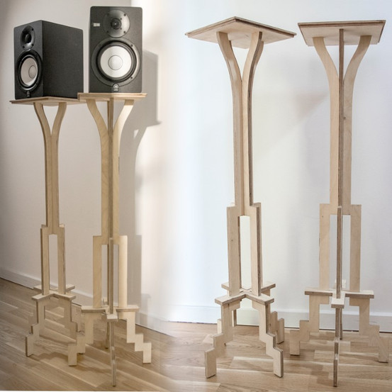 a stand for small speakers
