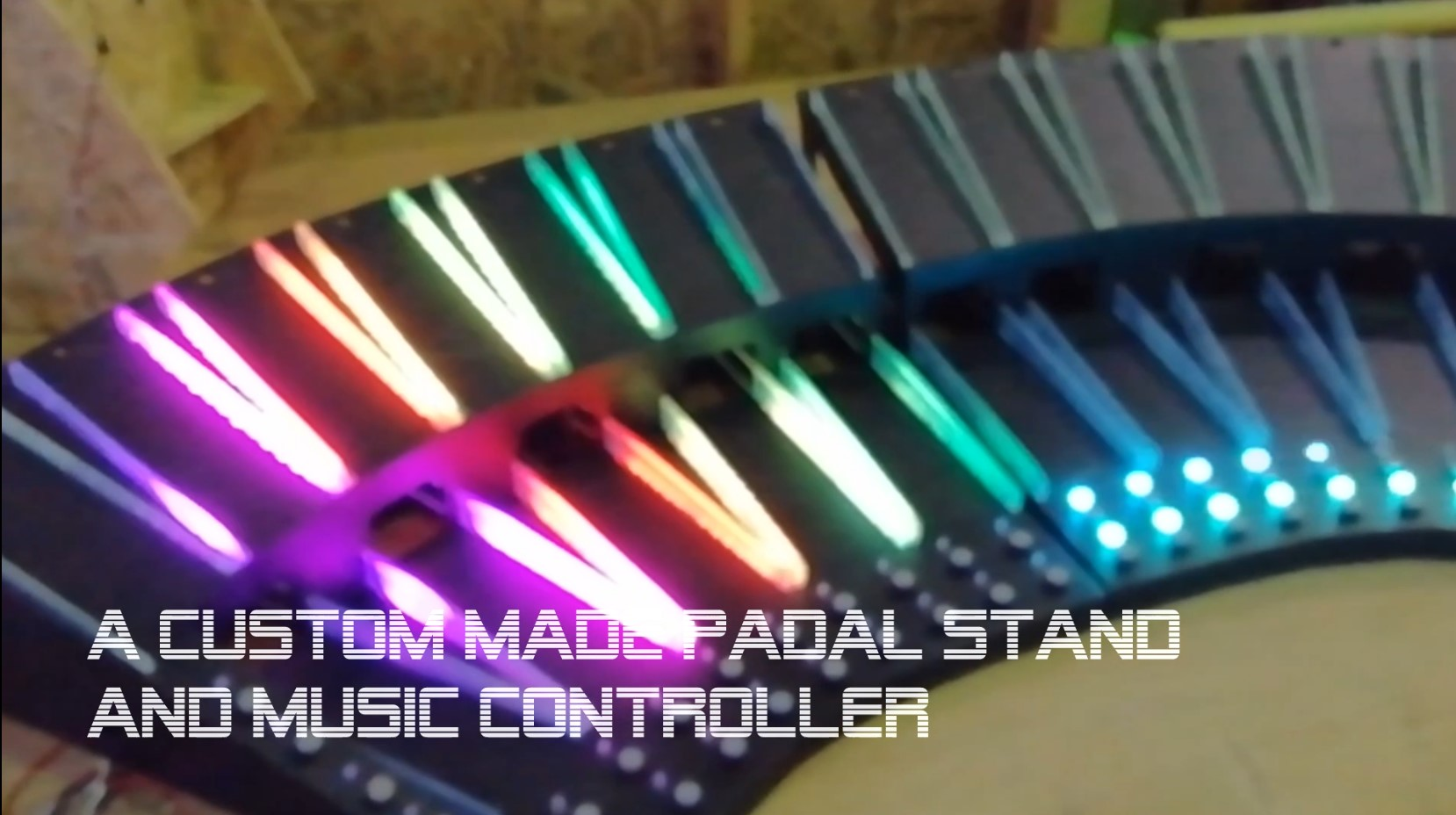 Multiple Pedals stand / music controller