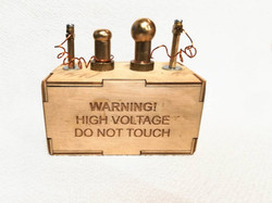 high voltage - do not touch!