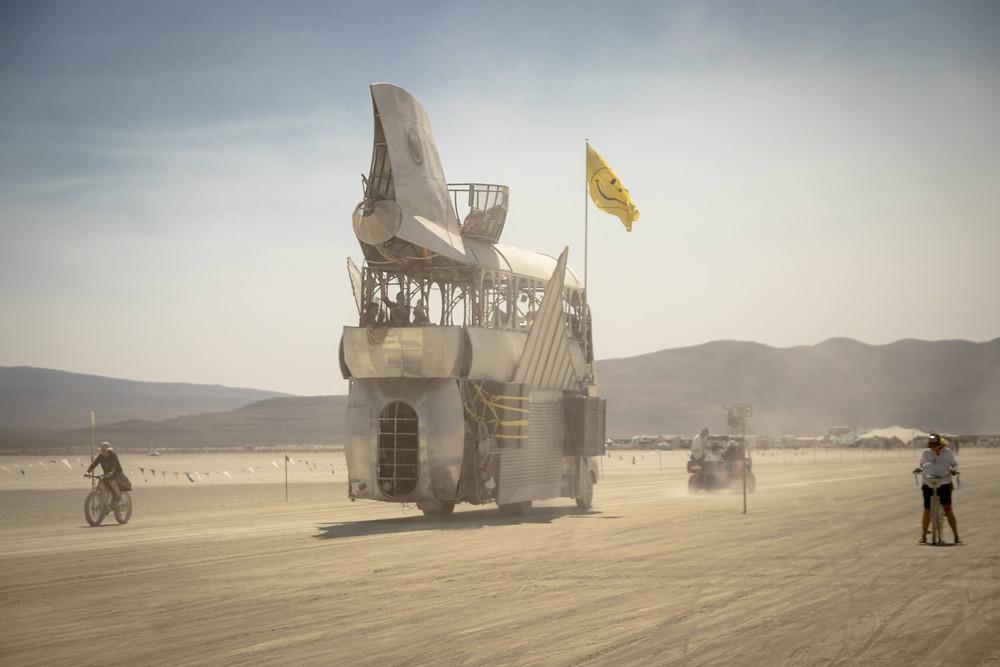 a big art car