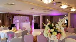 White wedding at Raithwaite Estate