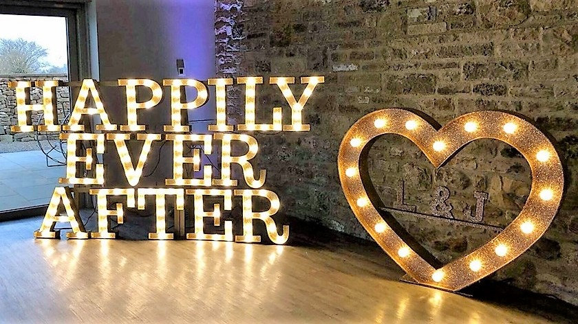 Disney wedding letters - Happily ever after