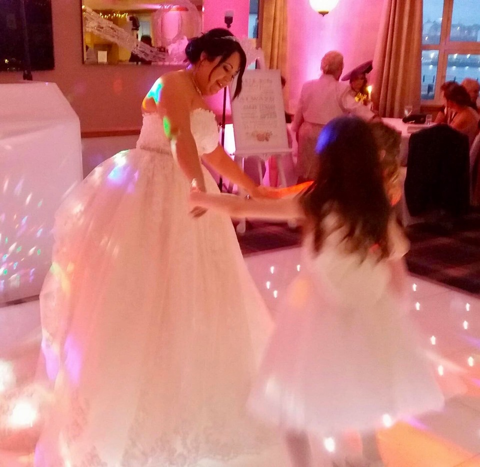 North East Led dance floor hire