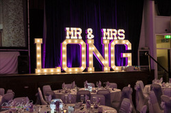Mr & Mrs Wedding Letters North East