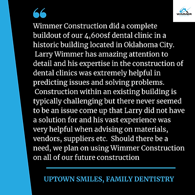 Uptown Smiles, Family Dentistry testimon