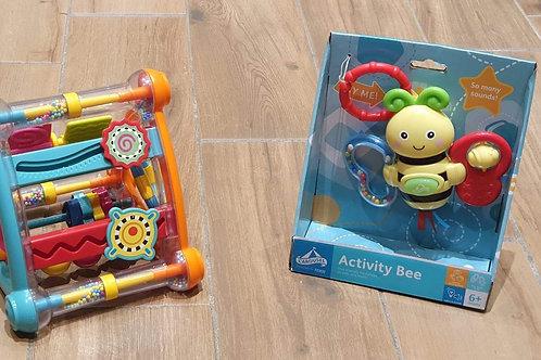 BRAND NEW Activity Bee & Sensory Toy