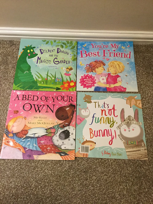 A Collection Of Girls Books x 4
