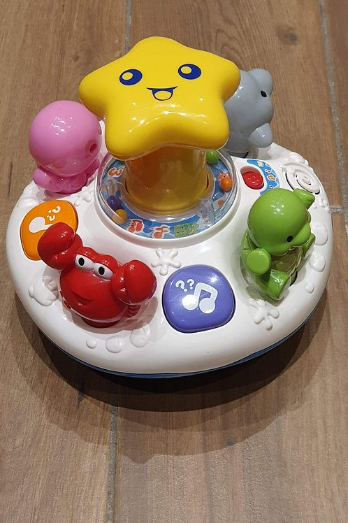 Vtech Push & Spin Ocean  Musical Toy