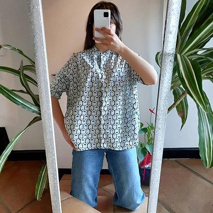 Camicia fantasia geometrica