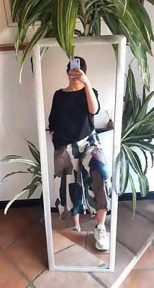 Gonna-pantalone camouflage