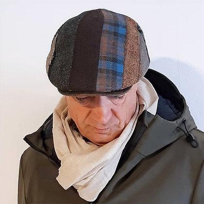 Coppola uomo patchwork