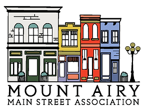 Mount Airy Main Street Association Logo.