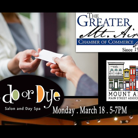 Join Us at the March 18 GMACC Business Card Exchange at A Do or Dye Salon & Day Spa