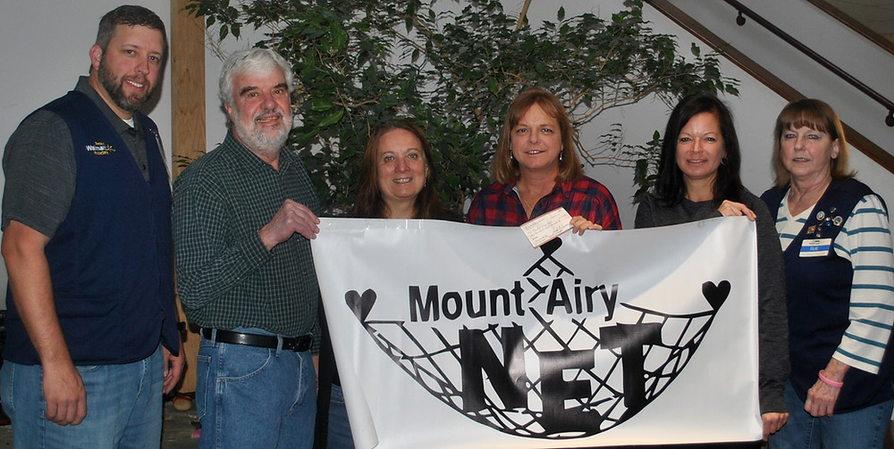 MAMSA Check Presentation to the Mount Airy Net.