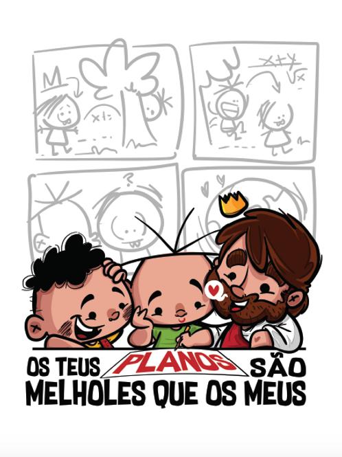 """Arte Digital // """"Melholes"""" planos - Luciano Ilustrador"""