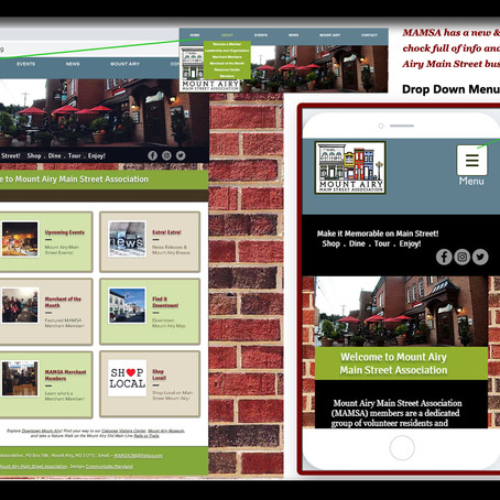 MAMSA Launches New Website, Promotes Downtown Main Street
