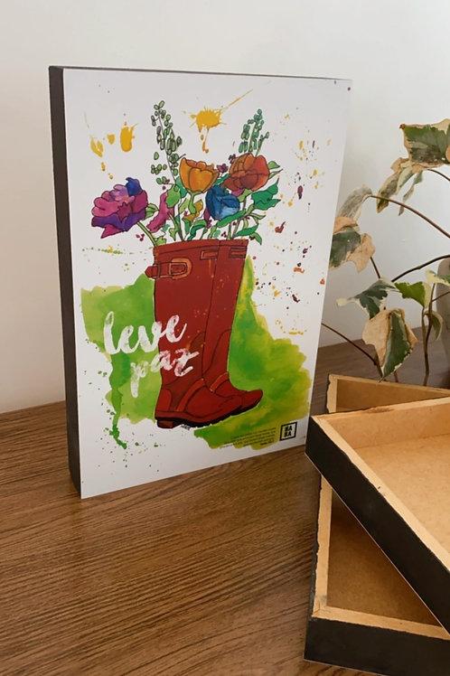 Leve paz - BOX 20x30