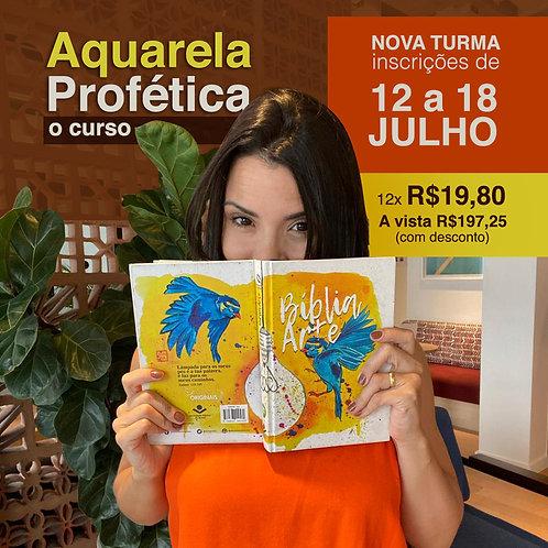 CURSO - Aquarela Profética