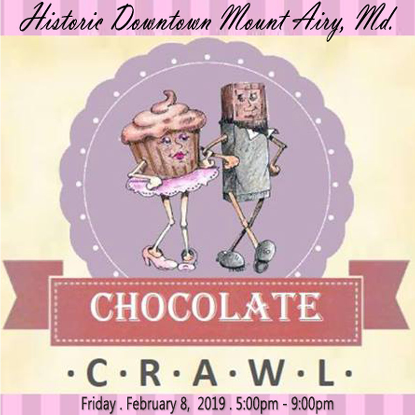 Historic Downtown Mount Airy, Md. CHOCOLATE CRAWL