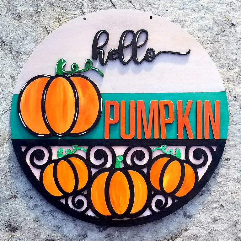 Paint for a Cause - MAMSA Hello Pumpkin