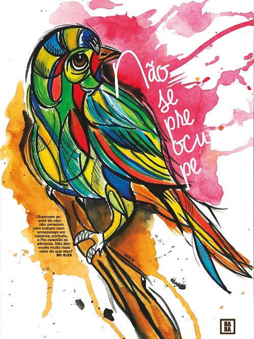 Arte Digital // Pássaro