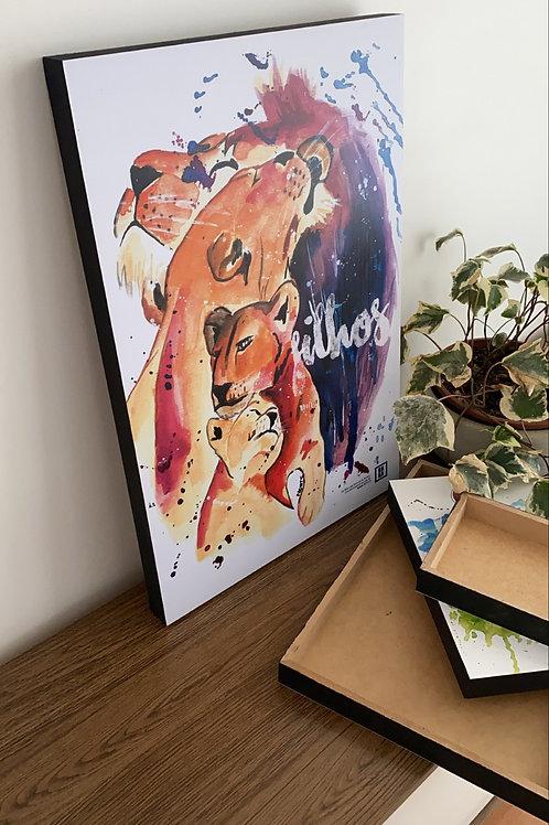 Filhos - BOX 40x60