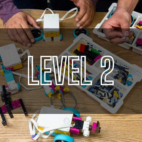 Engineering with Lego Education SPIKE™ Prime (Level 2)