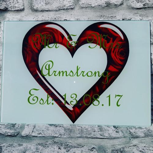 Personalised Gifts   Shevington   3dworx   Wedding Range