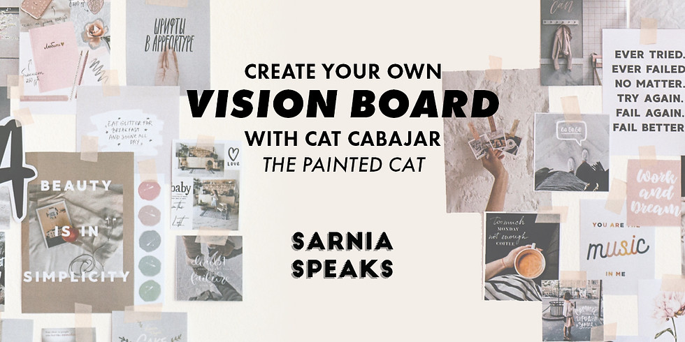 Vision Boards with The Painted Cat